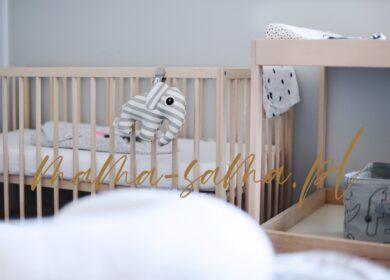 Kąt dla noworodka w sypialni rodziców