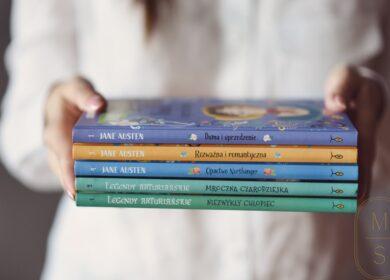 Biblioteczka: klasyczne powieści w adaptacji dla dzieci